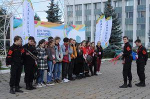 Волонтёры культуры на дне города Одинцово